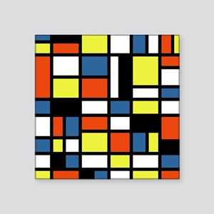 "PRIMARY COLORS Square Sticker 3"" x 3"""