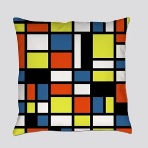 PRIMARY COLORS Everyday Pillow