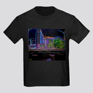 An Electrifying Neon Lit Chicago T-Shirt