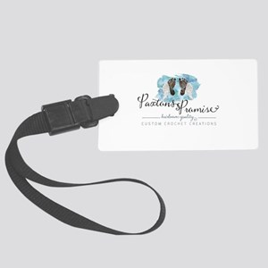 Paxton's Logo Large Luggage Tag