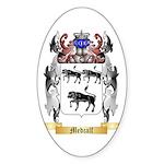 Medcalf Sticker (Oval 10 pk)