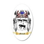 Medcalf 20x12 Oval Wall Decal