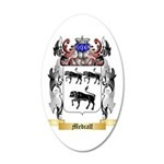 Medcalf 35x21 Oval Wall Decal