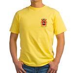 Mecuzzi Yellow T-Shirt