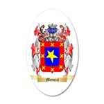 Mecuzzi 20x12 Oval Wall Decal
