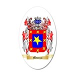 Mecuzzi 35x21 Oval Wall Decal