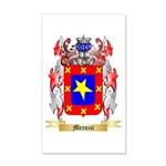 Mecuzzi 20x12 Wall Decal