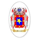 Mecucci Sticker (Oval 50 pk)