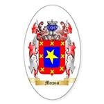 Mecozzi Sticker (Oval 50 pk)