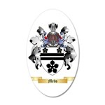 Mebs 35x21 Oval Wall Decal