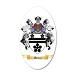 Meazzi 35x21 Oval Wall Decal