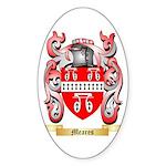 Meares Sticker (Oval 10 pk)