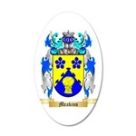 Meakins 20x12 Oval Wall Decal