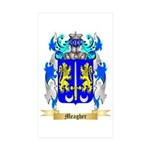 Meagher Sticker (Rectangle 10 pk)