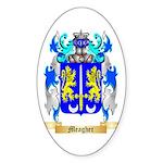 Meagher Sticker (Oval 50 pk)