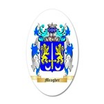 Meagher 35x21 Oval Wall Decal