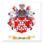 Meagh Square Car Magnet 3