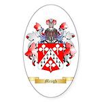 Meagh Sticker (Oval 50 pk)