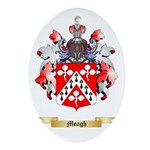 Meagh Oval Ornament