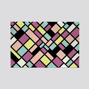 PASTEL COLORS Rectangle Magnet