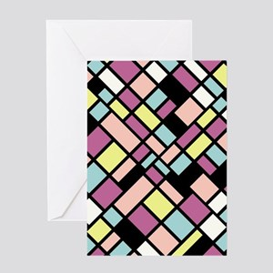 PASTEL COLORS Greeting Card