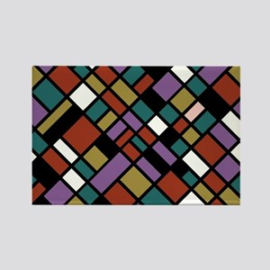 JEWEL TONES Rectangle Magnet