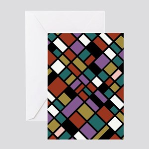 JEWEL TONES Greeting Card