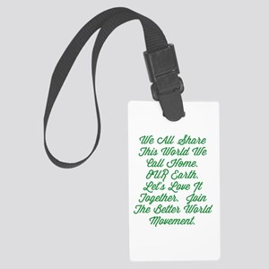 OUR Earth Luggage Tag