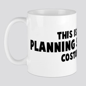 Planning Student costume Mug