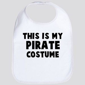 Pirate costume Bib