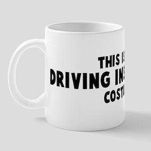 Driving Instructor costume Mug