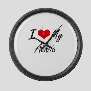 I love my Alivia Large Wall Clock