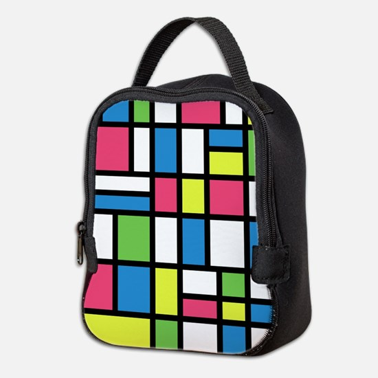 NEON COLORS Neoprene Lunch Bag