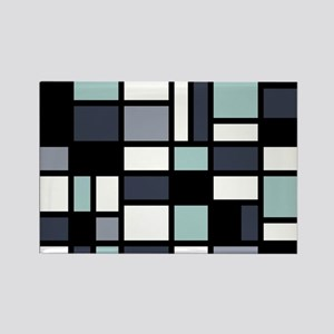 SHADES OF BLUE Rectangle Magnet