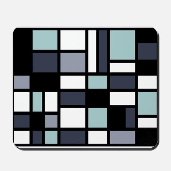 SHADES OF BLUE Mousepad
