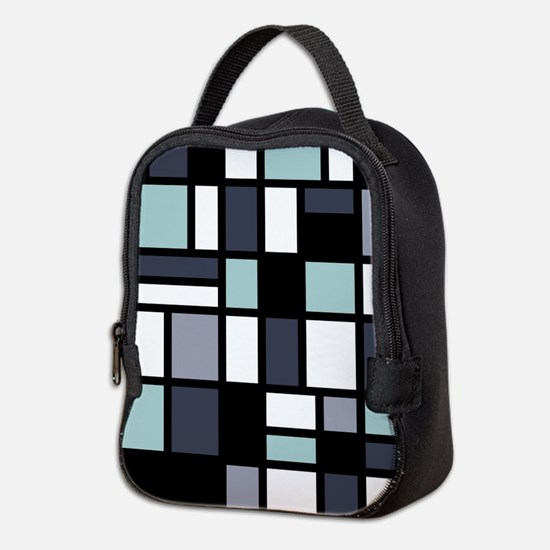 SHADES OF BLUE Neoprene Lunch Bag