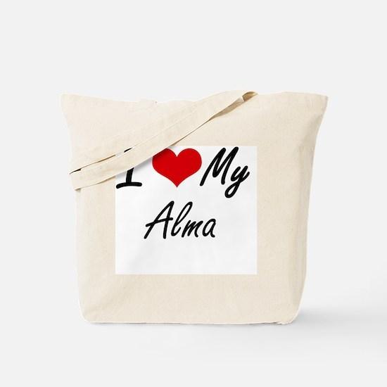 I love my Alma Tote Bag