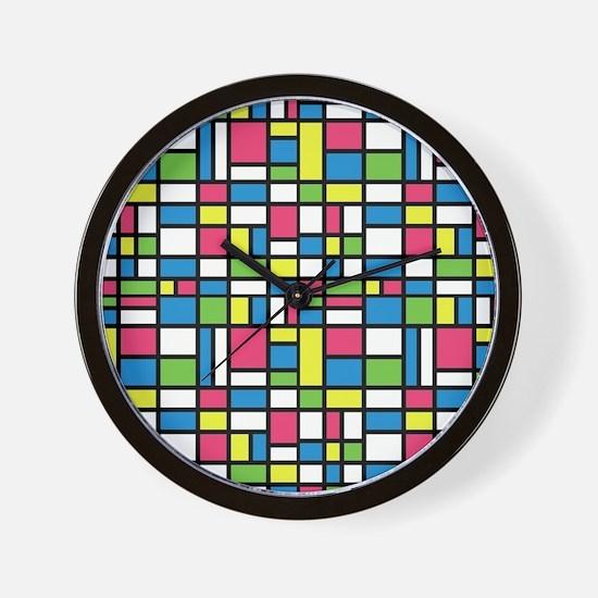 NEON COLORS Wall Clock