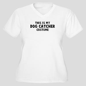 Dog Catcher costume Women's Plus Size V-Neck T-Shi