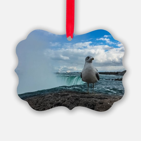 Is this your first trip to Niagra? Ornament