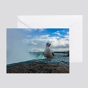 Is This Your First Trip To Niagra? Greeting Cards