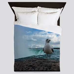 Is this your first trip to Niagra? Queen Duvet