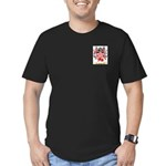 Meager Men's Fitted T-Shirt (dark)