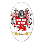 Meager Sticker (Oval 50 pk)