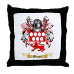 Meager Throw Pillow