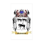 Meadowcroft Sticker (Rectangle 50 pk)