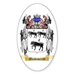 Meadowcroft Sticker (Oval 50 pk)