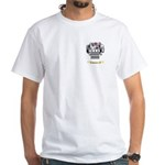 Meadley White T-Shirt
