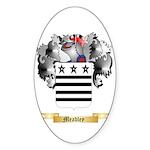 Meadley Sticker (Oval)