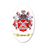Meade 20x12 Oval Wall Decal